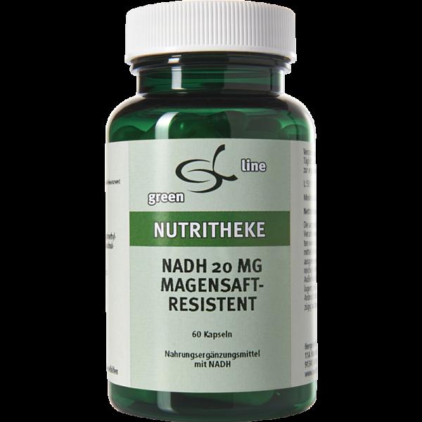 NADH 20 mg magensaftresistent